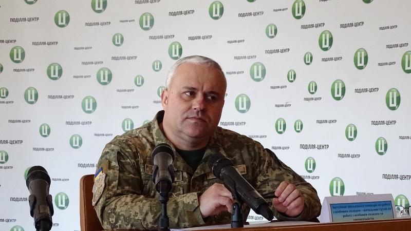 За словами Володимира Гучка, до війська покличуть 705 призовників