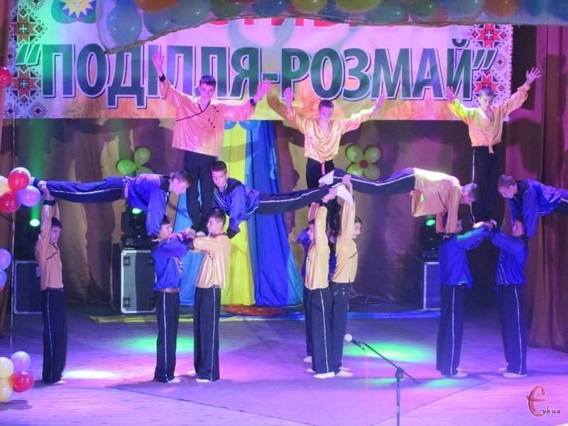 Переможець у номінації «Циркове мистецтво» - зразковий цирковий колектив «Молодість» (м. Болград)