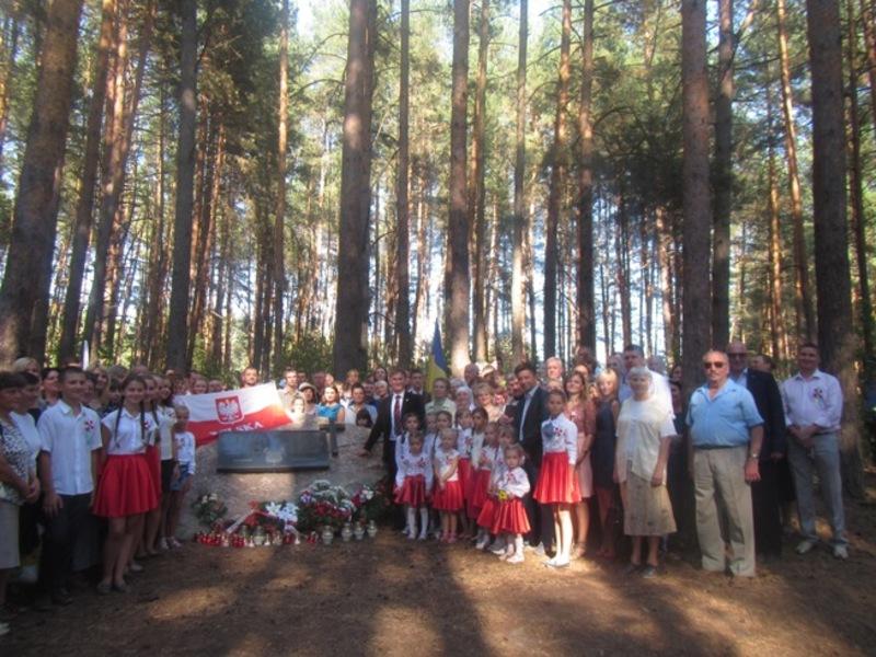 На Славутчині встановили меморіал загиблим Січневим повстанцям 1863 року