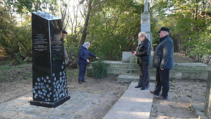 Монумент вже встановили, а відкриють офіційно 25 жовтня.