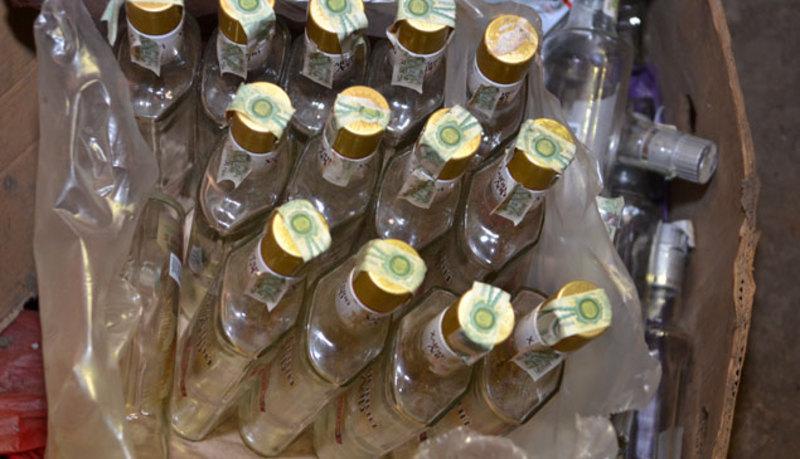 Алкоголь відправляли на склад або одразу покупцям