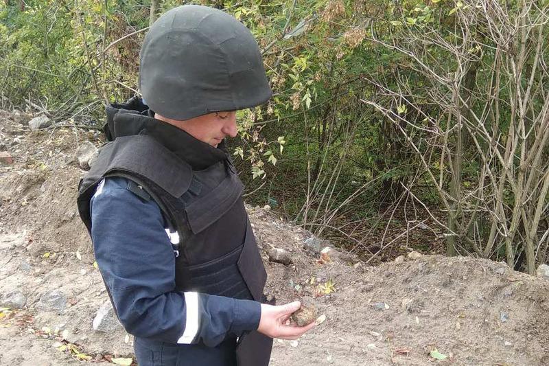 У Летичівському районі знищили ручну гранату
