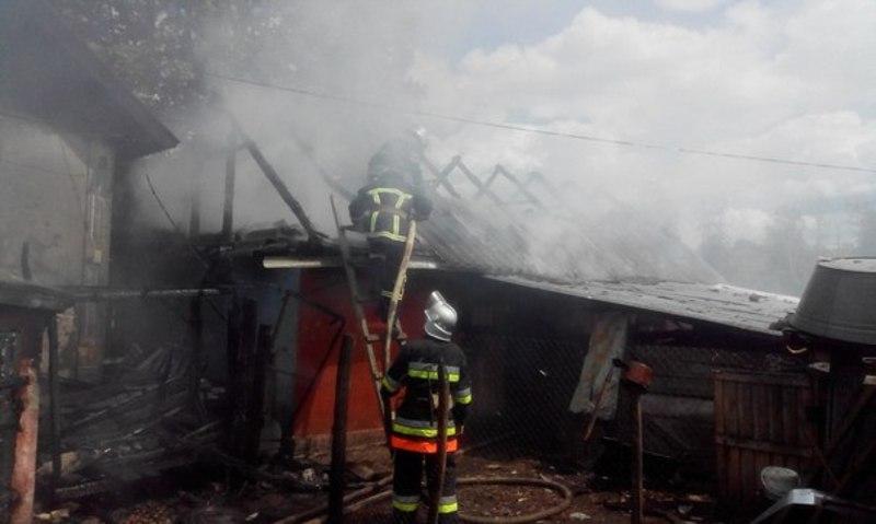 На Хмельниччині внаслідок пожежі загинув 52-річний чоловік