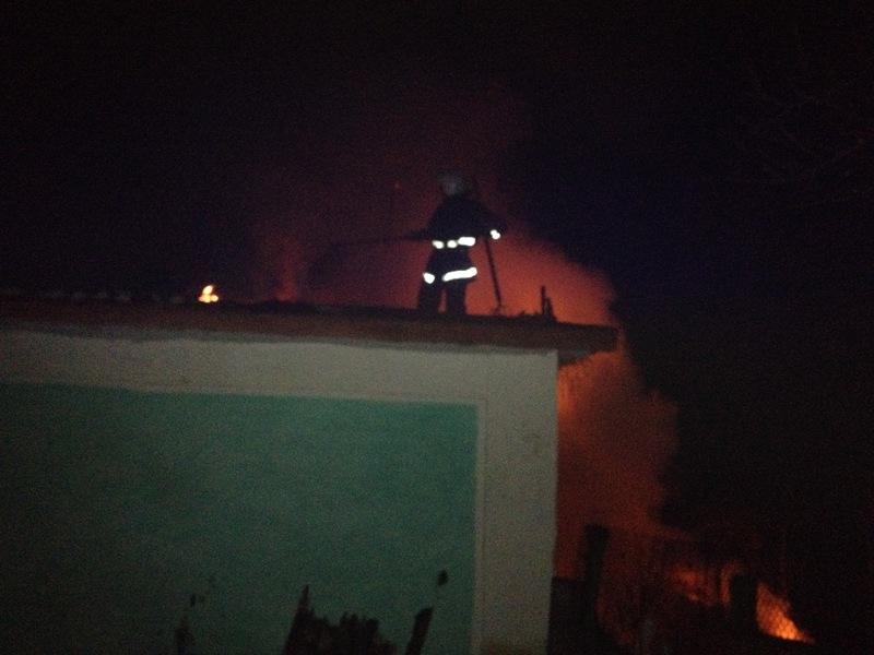 У Красилівському районі вогнеборці ліквідували займання житлового будинку