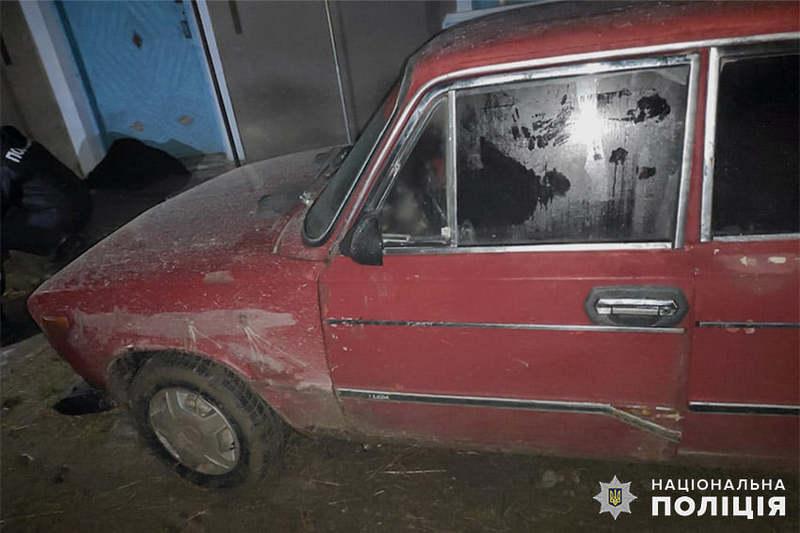 Після вчинення ДТП автомобіль підозрюваний заховав у знайомих
