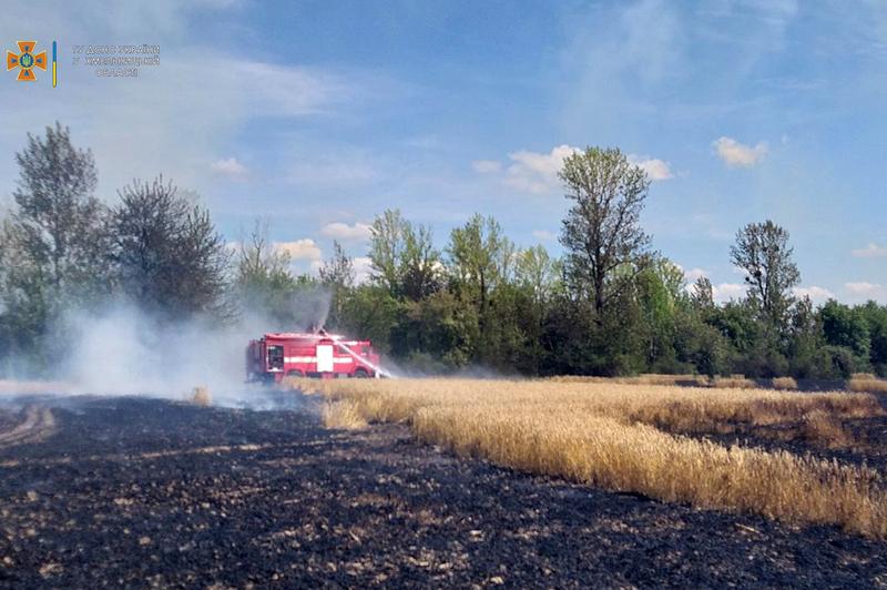 Пожежу вдалося загасити майже через годину від отримання рятувальникам виклику на лінію «101»