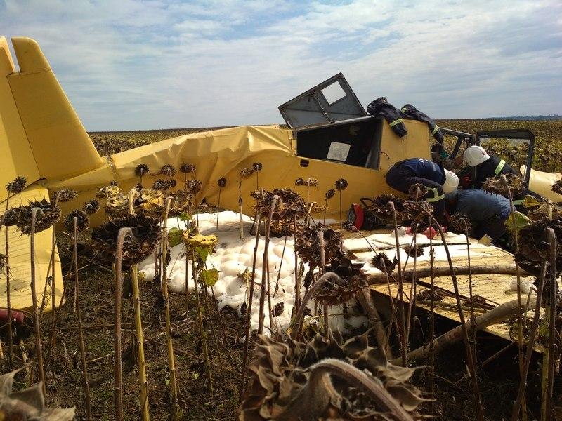 Пілот потрапив у лікарню