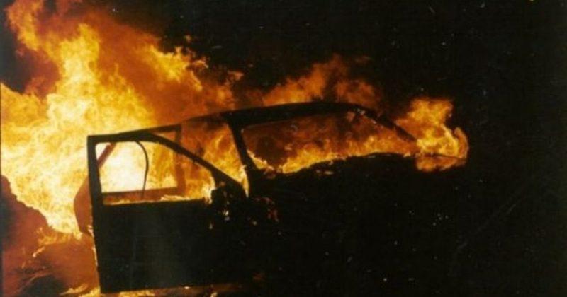 4 квітня в Бокиївці Волочиського району згорів автомобіль