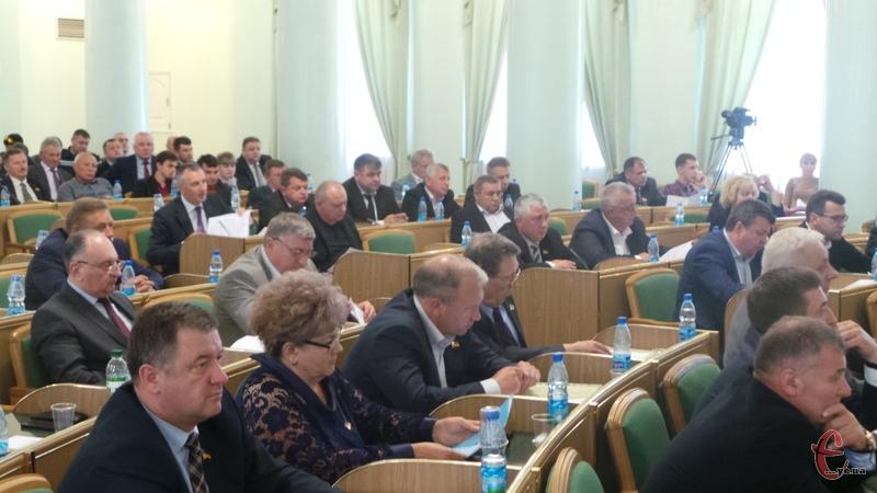 За Стратегію розвитку проголосувало 67 депутатів