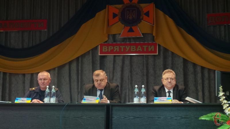 У ДСНС області підбивали підсумки дільності за 2016 рік