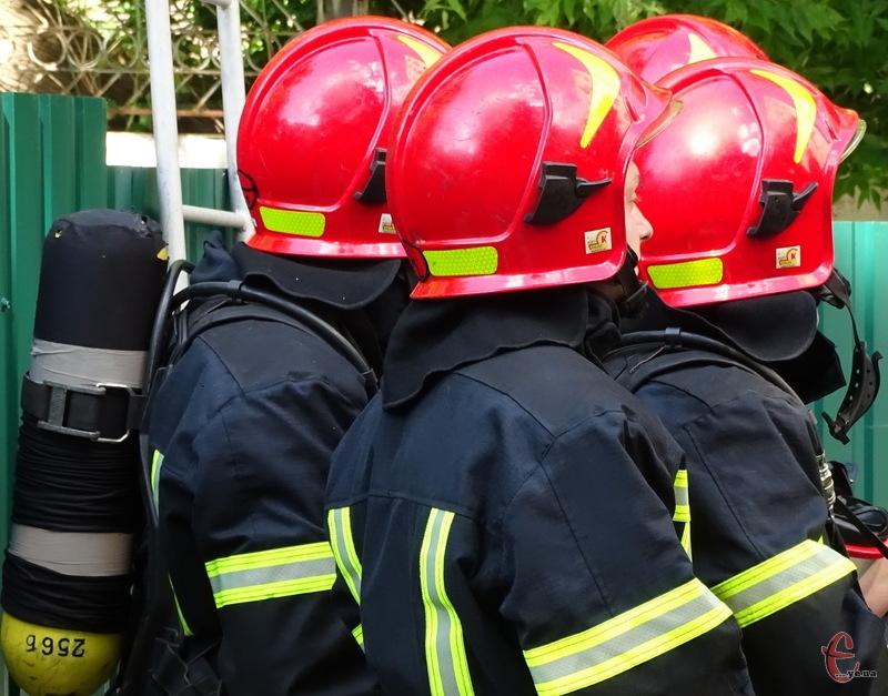 Вогнеборці загасили полум\'я