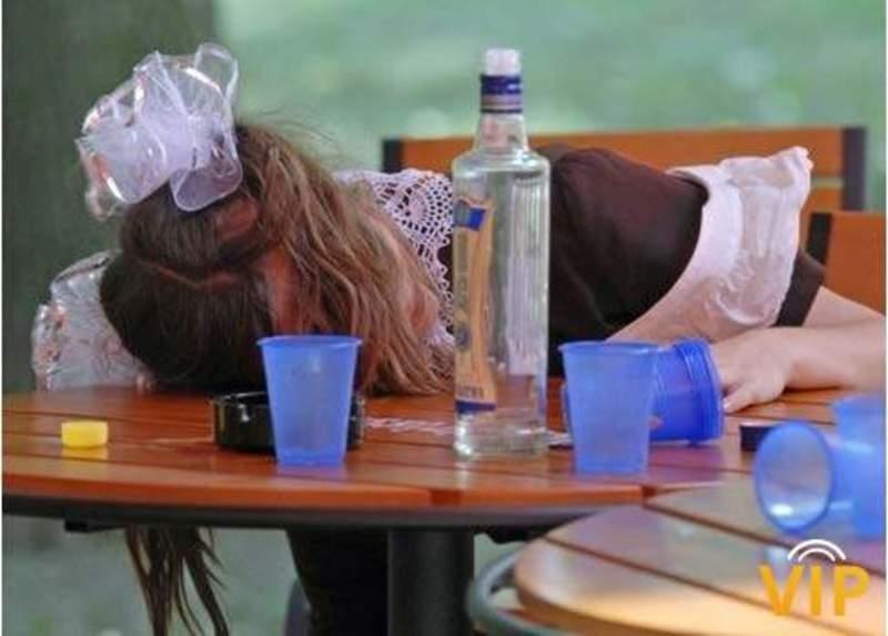 Нейбільше сп'янілих неповнолітніх знаходять поблизу барів та нічних клубів
