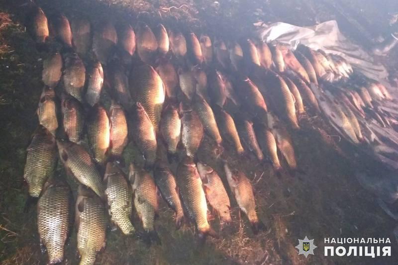 49-річний браконьєр впіймав 146 рибин різних видів