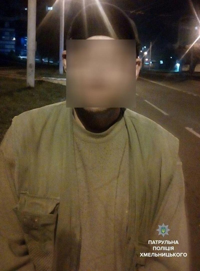 У Хмельницькому затримали чоловіка з Полтавщини, який перебуває у розшуку