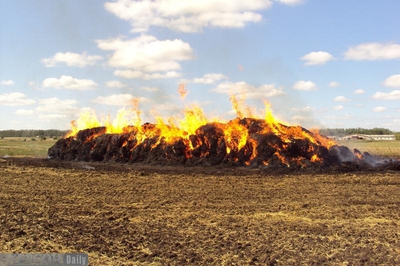 Пожежа сталася через необережне поводження з вогнем