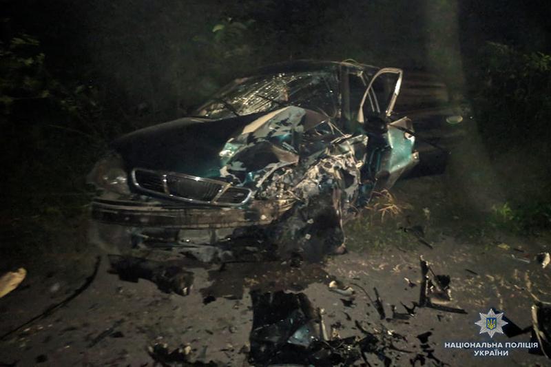 На Хмельниччині в ДТП за участю трьох автомобілів травмувалися п'ятеро людей
