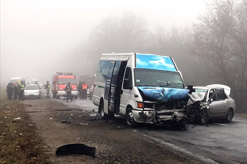 Аварія сталася поблизу станції Дунаївці