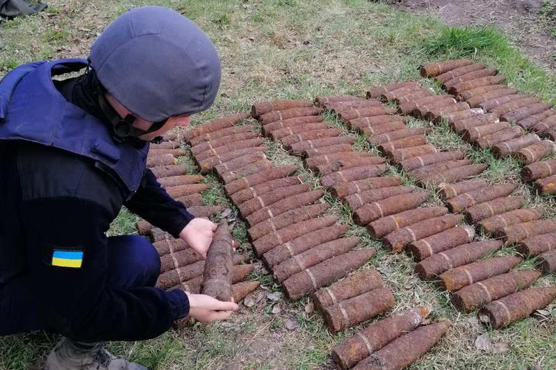 Знайдені снаряди пролежали в землі майже 80 років