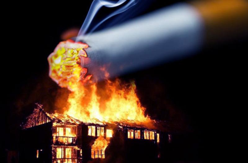 Ймовірно, що причиною пожежі в Летаві стала необережність при палінні