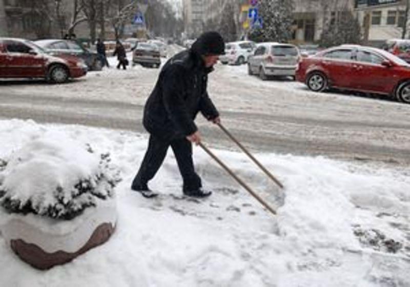 13, 14 листопада очікується сніг, мокрий сніг