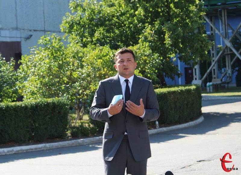 Це вже третій візит Володимира Зеленського як президента на Хмельниччину