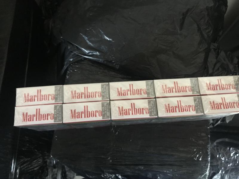 Вилучені сигарети були як відомих марок, так і маловідомих