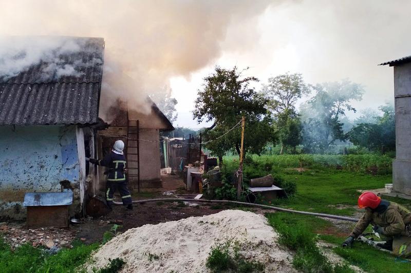 Рятувальники змогли приборкати пожежу за лічені хвилини