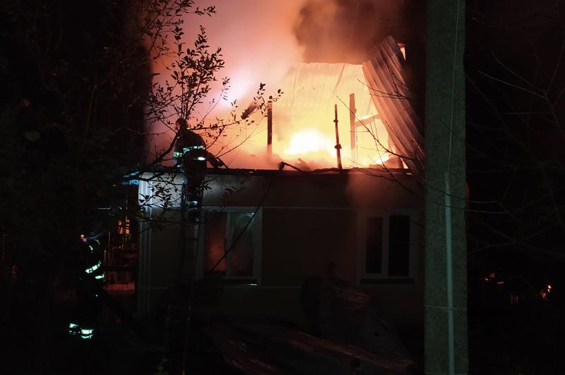 Рятувальники  ліквідували пожежу в дачному будинку