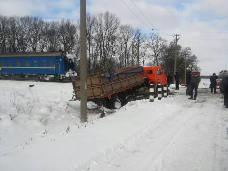 Транспортні засоби отримали механічні ушкодження