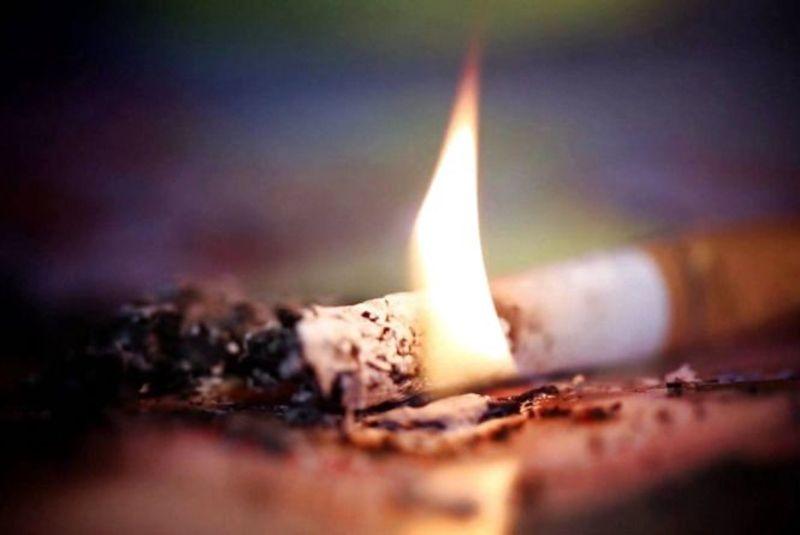 Причина пожежі – необережність під час куріння