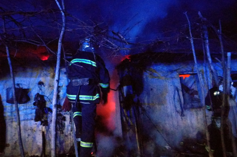 Пожежа сягнула площі 45 квадратних метрів