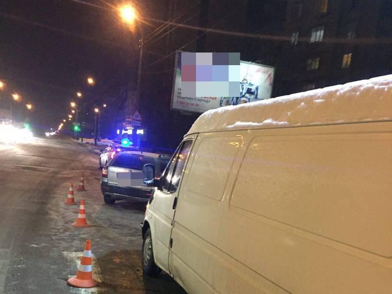 Аварія сталася по вулиці Прибузькій