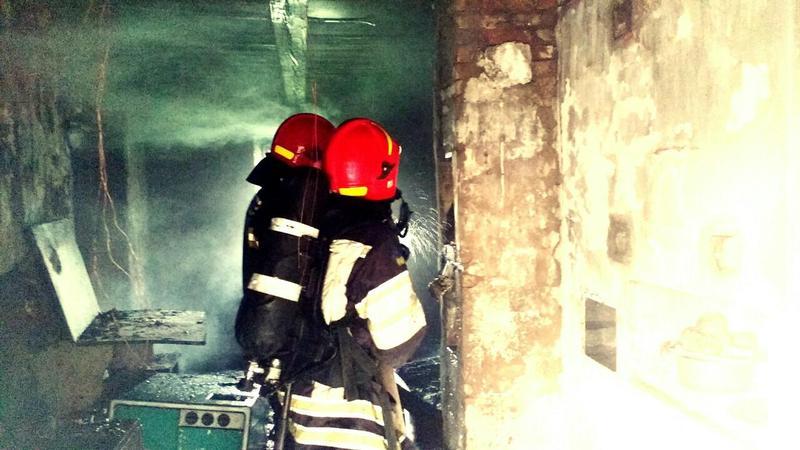 Вогонь охопив будинок на площі майже 30 квадратних метрів