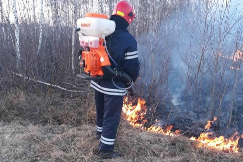 Пожежу зафіксували у селі Мальованка