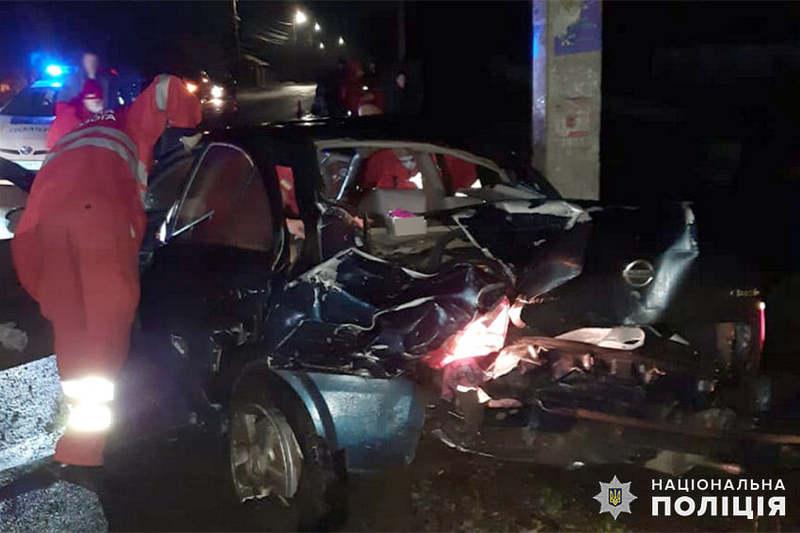 Авірія відбулася на перехресті вулиць Героїв Майдану та Набережної