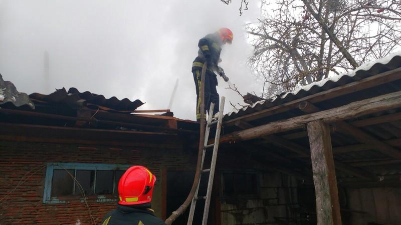 Пожежа сягала  площі 90  квадратних метрів