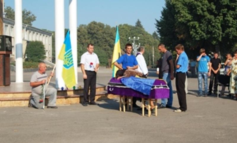 Олега Середюка поховають завтра, 2 вересня, у селі Москалівка