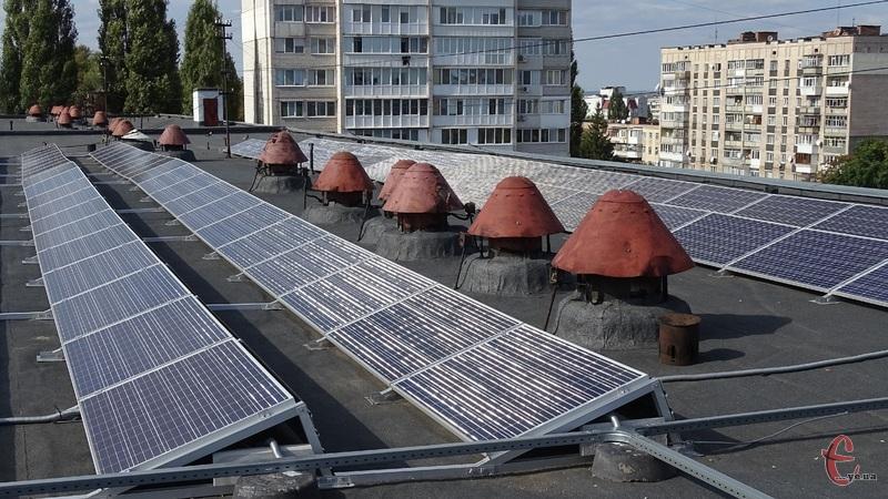Хмельницький національний університет планує забезпечити себе повністю електроенергією власного виробництва