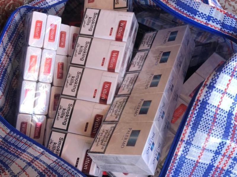 Цигарки реалізовували на ринку