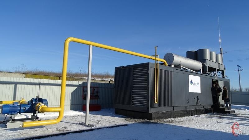 З хмельницького сміттєзвалища спеціальна установка видобуває газ та переробляє на електроенергію
