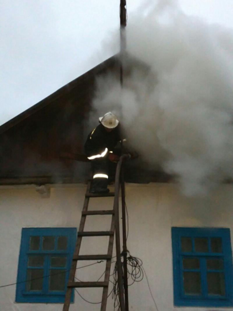 Причина пожежі – порушення правил пожежної безпеки під час експлуатації пічного опалення