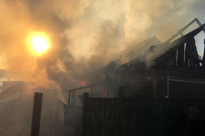 Розповсюдженню пожежі сприяло одразу кілька факторів