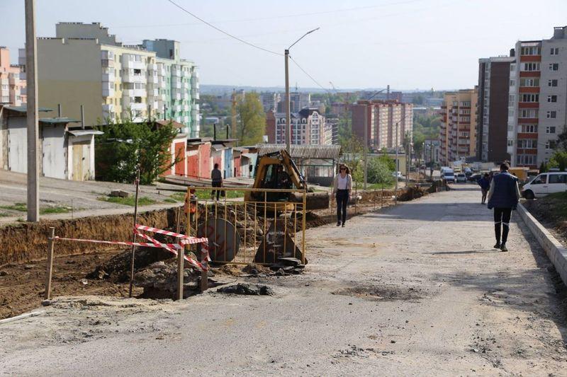 У місті капітально відремонтують шість доріг