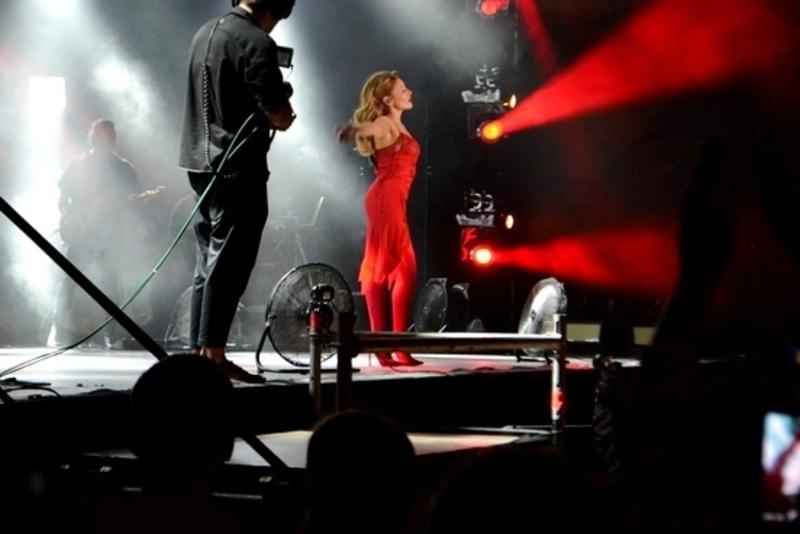 Виступ співачки був дуже чуттєвим і емоційним