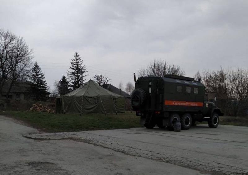 Один із КПП встановлений на межі Хмельницької та Чернівецької областей ще минулого тижня