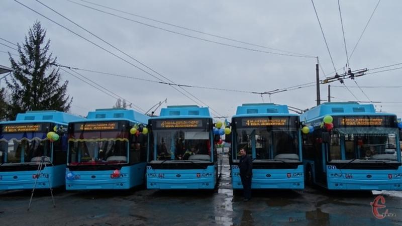 30 січня тролейбуси виїхали на маршрут