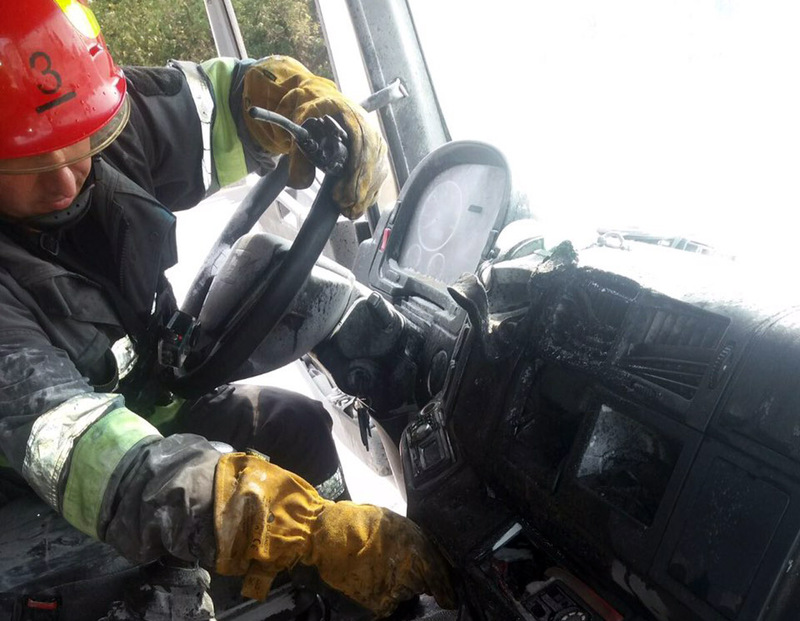 Рятувальники ліквідували пожежу