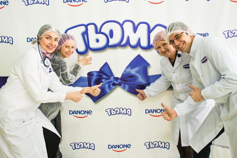 Компанія групи «Данон» виробляє здоровий та якісний український продукт для дітей.