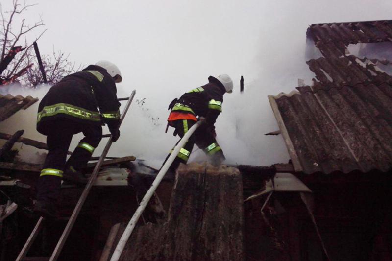 Рятувальники гасили п'ять пожеж
