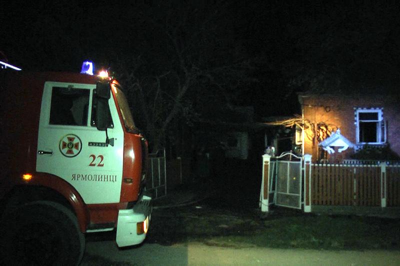 Під час ліквідації пожежі рятувальники виявили тіла двох людей без ознак життя